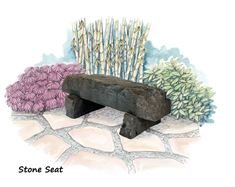 Picture of Stone Seat