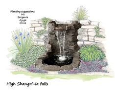 Picture of High Shangri-la Falls