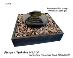 Picture Of Stepped Tsukubai