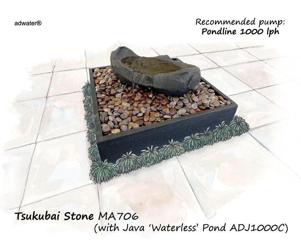 Picture Of Tsukubai Stone