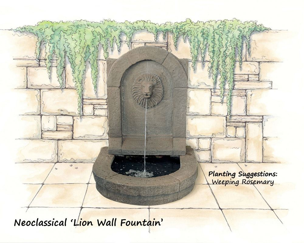 Water fountains auckland - Picture Of Wall Fountain