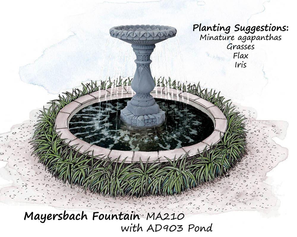 Water fountains auckland - Mayersbach Fountain