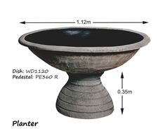 Picture of Planter on Round Pedestal