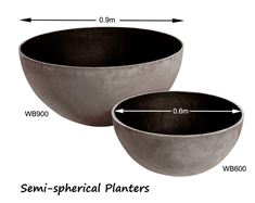 Picture of Planters - Semi-spherical